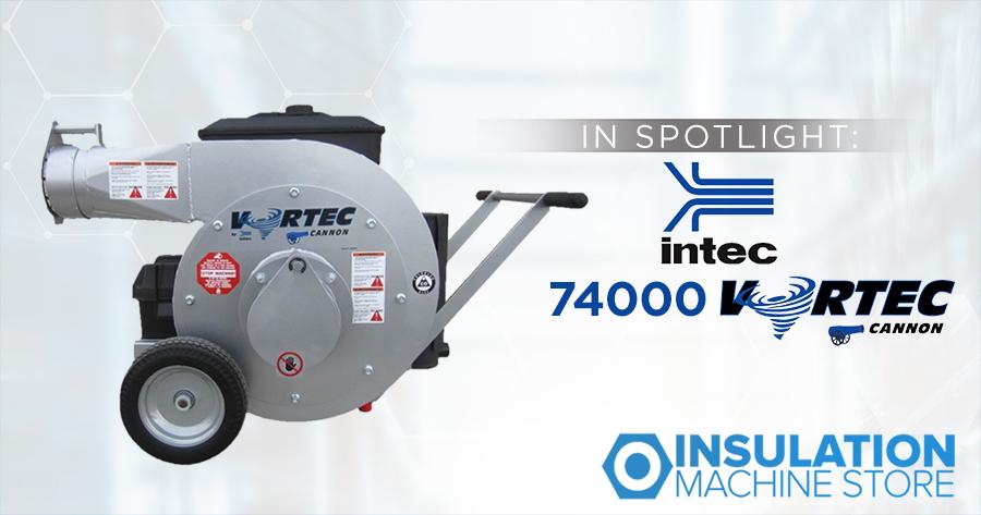 In Spotlight: Intec 74000 Vortec Cannon High Powered Vacuum
